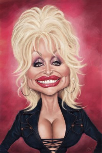 Get Dolly Parton the Queen of Country Music to Spice Up your party