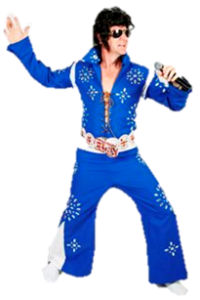 Invite The King Elvis Presley to Your Next Party